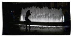 Dreamer At The Met Bath Towel