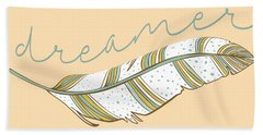 Hand Towel featuring the digital art Dreamer by Heather Applegate
