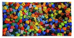 Dreaming In Legos  Bath Towel