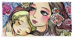 Dreaming In Roses Hand Towel