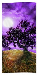 Dreaming Of Oak Trees Bath Towel by Laura Iverson