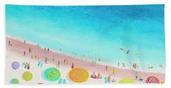 Dreaming Of Sun, Sand And Sea Bath Towel
