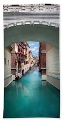 Dreaming Of Venice Hand Towel