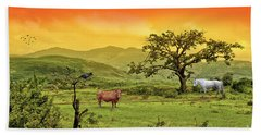 Hand Towel featuring the photograph Dreamland by Charuhas Images