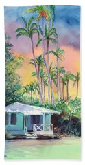Dreams Of Kauai Bath Towel by Marionette Taboniar