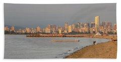 Dreamy Vancouver Skyline Hand Towel