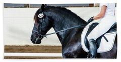 Dressage Horse Show Hand Towel