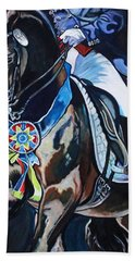 Dressage Stallion Bath Towel
