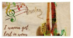 Hand Towel featuring the digital art Drift Away Country by Nikki Marie Smith