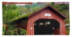 Drift Creek Covered Bridge Hand Towel