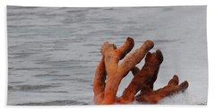 Drifting Coral Hand Towel