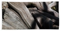 Driftwood Abstract Bath Towel by Kenneth Albin