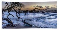 Driftwood Beach 3 Hand Towel