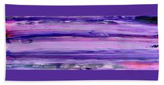 Driftwood Purple Hand Towel