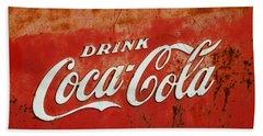 Drink Coca Cola  Bath Towel