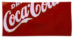 Drink Coke Hand Towel