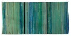 Drippings Triptych Hand Towel