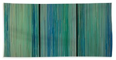 Drippings Triptych Bath Towel