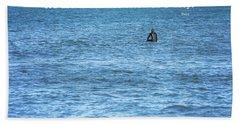Drop In The Ocean Surfer  Bath Towel by Terry DeLuco