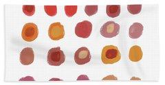 Drops Of Fall Color- Art By Linda Woods Hand Towel