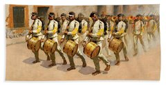 Drum Corps Hand Towel