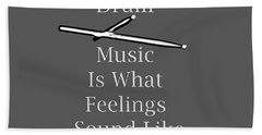Drum Is What Feelings Sound Like 5579.02 Hand Towel