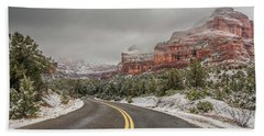 Boynton Canyon Road Hand Towel