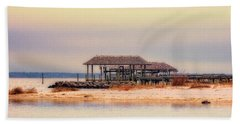 Bath Towel featuring the photograph Dry Dock  by Melissa Messick