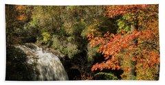 Dry Falls In North Carolina Bath Towel