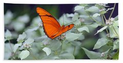 Bath Towel featuring the photograph Dryas Iulia by Patti Whitten