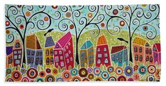 Dsc01598-swirl Tree Village Hand Towel