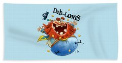 Dub-loons Hand Towel by Andy Catling
