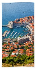 Dubrovnik From Above Hand Towel