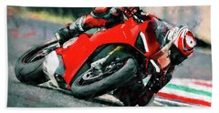 Ducati Panigale V4 - 01 Hand Towel