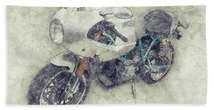Ducati Paulsmart 1000 Le 1 - 2006 - Motorcycle Poster - Automotive Art Bath Towel