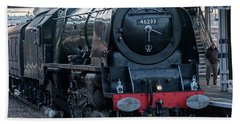 Duchess Of Sutherland Bath Towel by David  Hollingworth