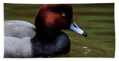 Duck Drip Hand Towel by Steve McKinzie
