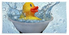 Duck Rubber Bath Towel