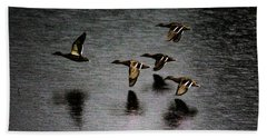 Duck Squadron Hand Towel