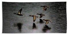 Duck Squadron Bath Towel