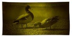 Ducks #3 Hand Towel