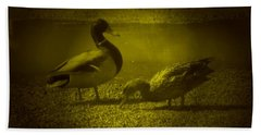 Ducks #3 Bath Towel