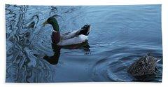 Mallard Duck Bath Towel