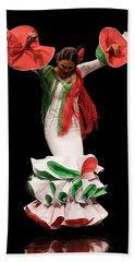 Duende Flamenco Bath Towel