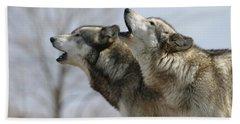Duet Howl Hand Towel