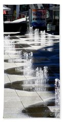 Dundas Square 1 Hand Towel by Randall Weidner