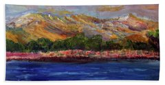 Dunes At Pilgrim Lake Bath Towel