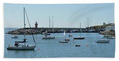 Dunmore East Harbour. Bath Towel