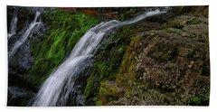 Dunnfield Creek Falls 2 Bath Towel