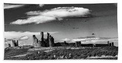 Dunstanburgh Castle Hand Towel